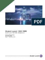 1830 VWM Release 8.0.0 Customer Release Notes