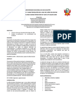 Extraccion y Caracterizacion Del Jugo de Caña de Azucar