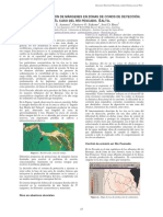 Control de Erosión de Márgenes en Zonas de Conos de Deyección
