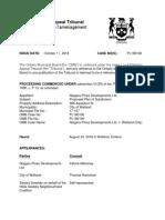 Welland - Niagara Pines subdivision decision
