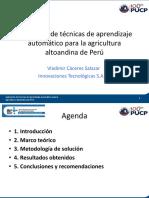305 Vladimir Cáceres - Aplicación de Técnicas de Aprendizaje Automático Para La Agricultura Altoandina de Perú (A203 09.08.2017 15.00)