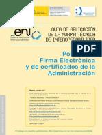 Guia de Aplicacion de La Norma Tecnica de Politica de Firma Electronica y de Certificados de La Administracio