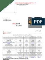 Electric 10-25m3 Mini Concrete Pump --- SANQ GROUP(1)