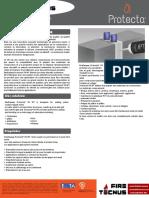 FireTecnus - Protecta FR Ipt - Ficha Técnica