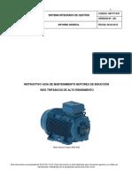 Instructivo mantenimiento motores