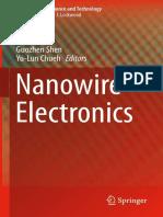 (Nanostructure Science and Technology) Guozhen Shen, Yu-Lun Chueh - Nanowire Electronics-Springer Singapore (2019)