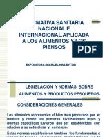 Normativa SanitariaNacInternacional