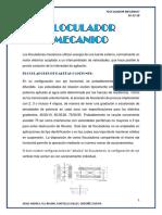 FLOCULADOR MECANICO