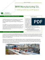 BMW BIOGAS LANDFILL GAS PROJECT