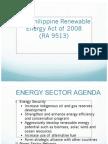 Renewable Energy Act of 2008