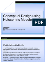Business Requirements Modelling Holocentric