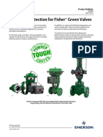 Product Bulletin Corrosion Protection for Fisher Valves en 124040