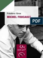 (Que Sais-Je) Frédéric Gros - Michel Foucault-Presses Universitaires de France (2017).epub