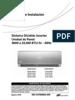 Mini Splits Inverter - Manual de Instalación (Español).pdf