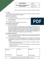 PR-02 Publicación y Difusión de Las Investigaciones