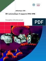 SSP 232 Boite de Vitesse Automatique 5 Rapports 09A 09B