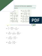 Deber Fracciones Algebraicas