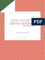 Cómo Callar Tu Crítico Interior - Libro de Ejercicios Abril 2019 (1)
