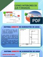 Sistema Directo e Indirecto de Abastecimiento  de Agua
