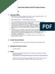 Audio Codes Mediant 2000 SIP Digital Gateway A