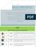 TALLER RESUELTO, GUERRA DE LA MERCADOTECNIA