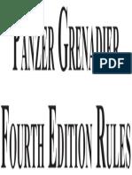 Panzer Grenadier 4th Edicion (JPal) (1)
