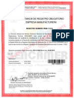 Certifica Do Sen Came r