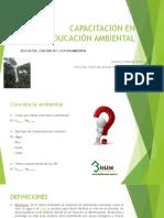 Capacitación en Educación Ambiental