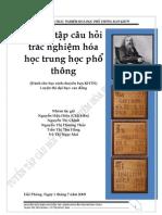 Tuyen Tap Cau Hoi Trac Nghiem Hoa Hoc Trung Hoc Pho Thong-sach Bai Tap -Demo
