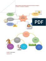 Realizar Dos Organizadores Gráficos Con Formas Aplicar Efectos en Las Formas y Efectos en Las Imágenes Impreso y Pegado Al Cuaderno