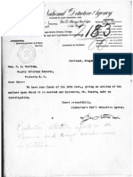 Pinkerton's National Detective Agency records relating to the murder of Agnes Bing and Michael Power