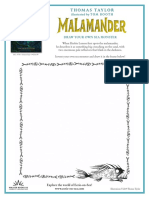 Malamander Activity Kit