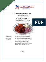 Puca Picante Plato Tipico v Feria Rosa