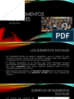 elementos sociales