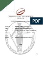 4 Propuestas de Cambio y Reforma Constitucional - Derecho Constitucional 1