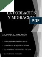 Población y Migracion Mundial