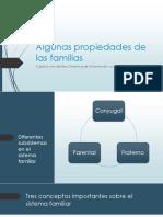 propiedades sistémicas de las familias