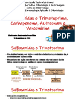 Sulfas, Vancomicinas e Etc
