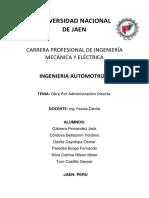 Automotriz II Final Administracion Directa Finallllllll