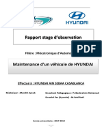 Rapport Stage d'initiation Hyundai