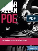 El Barril de Amortillado  E. Allan Poe