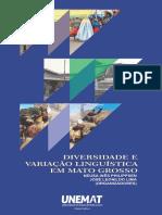 PHILIPPSEN, Neusa Inês; LIMA, José Leonildo. Diversidade e Variação Linguística Em Mato Grosso