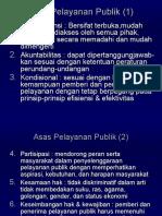 Asas Dan Prinsip Pelayanan Publik (5)