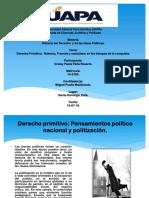 Tarea 1 de Historia Del El Derecho y de Las Ideas Politicas