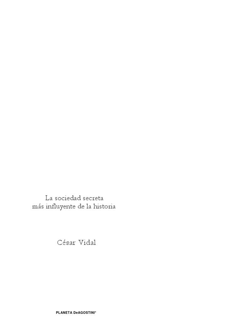 Vidal Manzanares Cesar - Los Masones