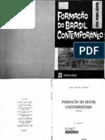 Formacao Do Brasil Contemporaneo Caio Prado Junior