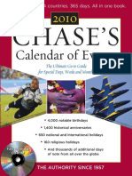 Chase's - Chase's Calendar of Events 2010_ the Ultimate Go-To Guide for Special Days, Weeks and Months, 53rd Edition (2009)