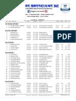 Terre Bresciane XC 2019 - #4 Vezza d'Oglio - Categorie