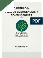 Plan de Emergencias y Contingencia 2017