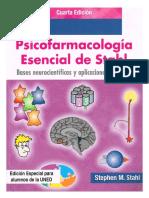 Psicofarmacologia Esencial de Stahl 4ª Edicion PDF